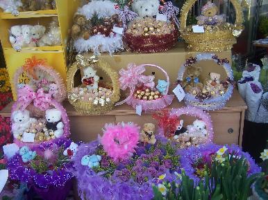 澎湖中兴鲜花店鲜花展示